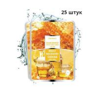 Deoproce - купить Набор тканевых масок с экстрактом меда и муцина улитки Deoproce color synergy effect sheet mask yellow 20г*25шт на Deoprocemarket.ru